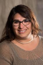Board Treasurer Maggie Melone-Echiburú